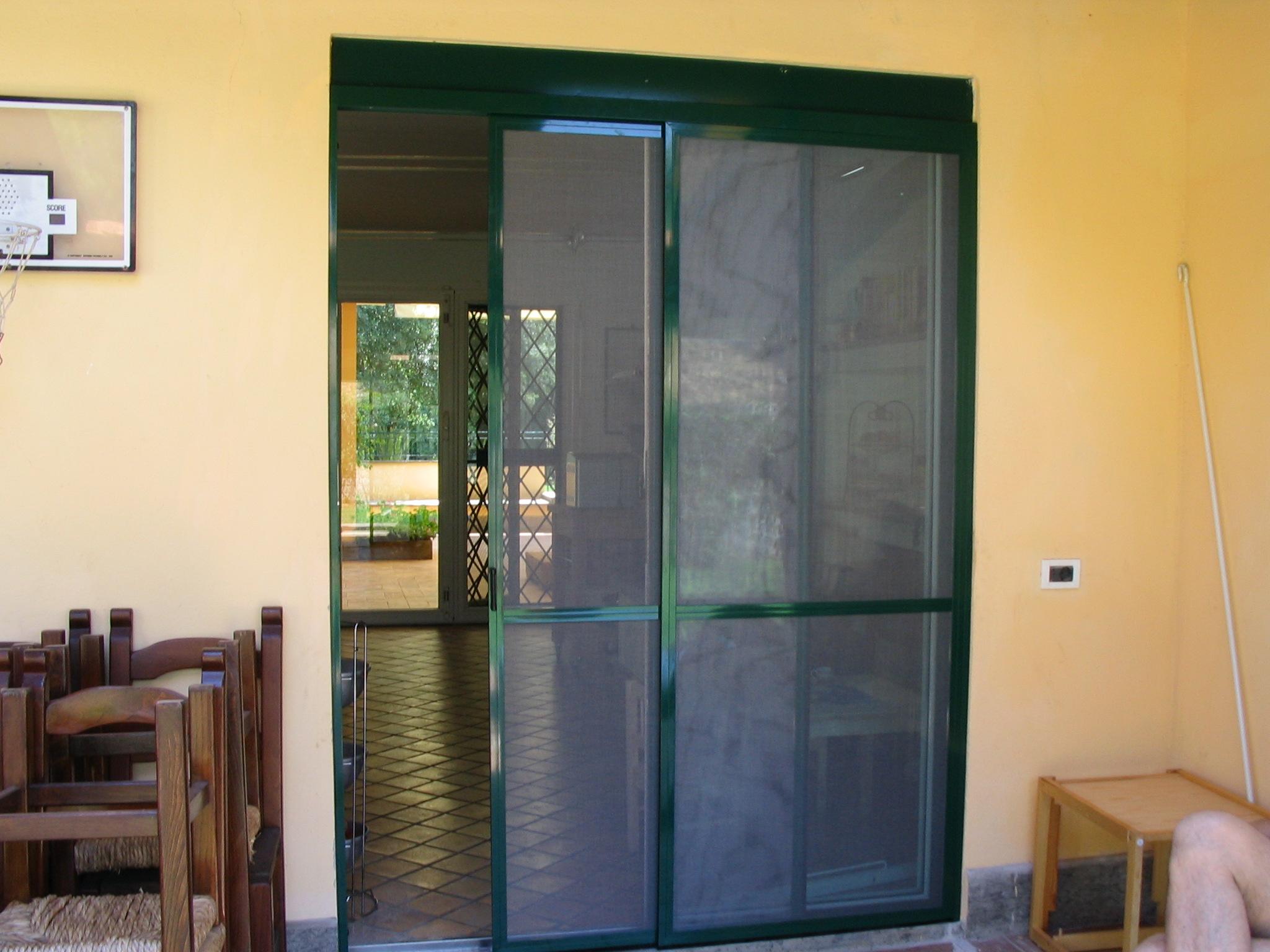 Zanzariere prodotti tende tecniche mefi tende - Zanzariere scorrevoli per porte finestra ...