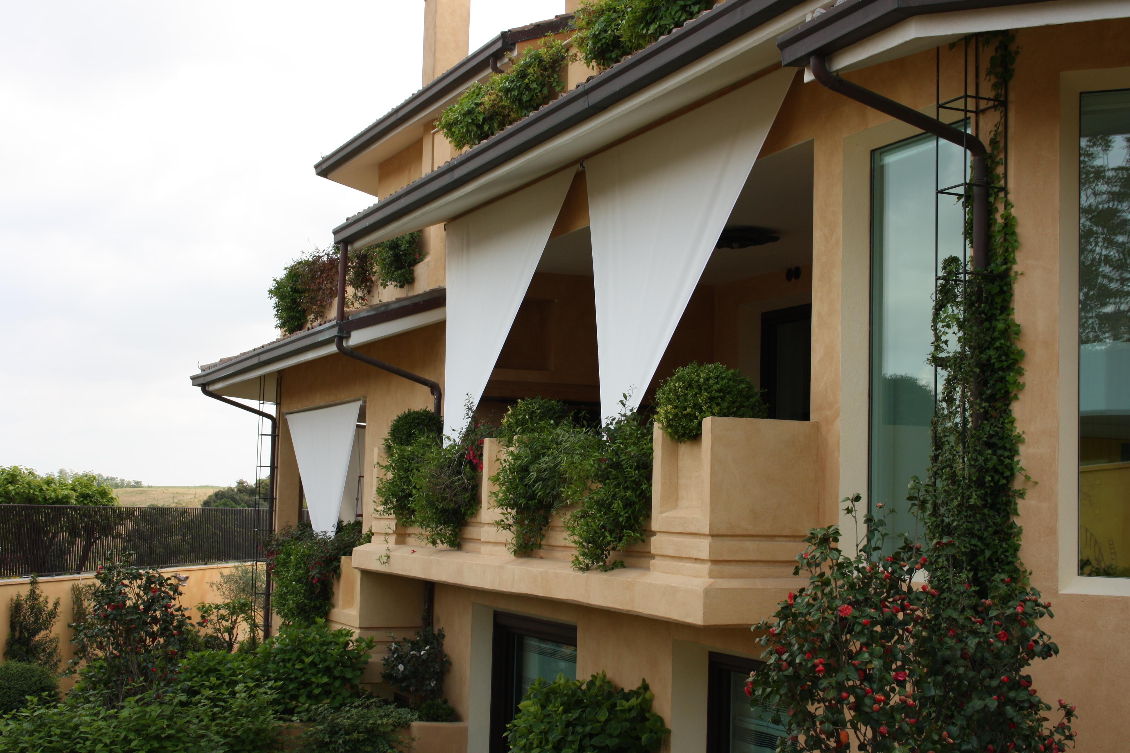 Tende da esterno mefi tende tecniche roma - Tende bambu per esterno ...