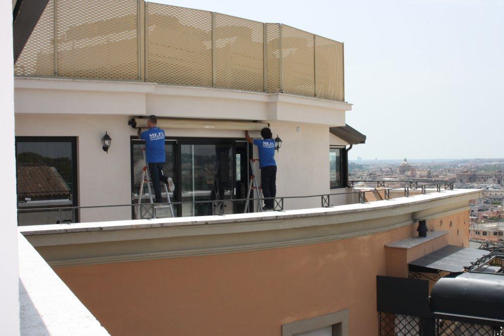 Tende Da Balcone Roma : Tende da sole mefi tende tecniche roma